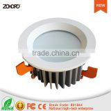 25w 40w 60w driverless led downlight 80ra 80lm long life deep recessed ip44 economy driver on board downlight