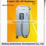 640-1200nm 2013 Exporter Beauty Salon Equipment Diode Laser E-light+IPL+RF 1-50J/cm2 Machine 2013 Skin Light Cream Price With Price Hair Removal