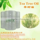 Natural Australian tea tree oil bulk for cosmetic factory wholesale price