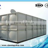 FRP Food Grade Panel Water Storage Tank / Concrete Base Water Tank
