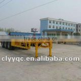 new container flat deck semi trailer truck