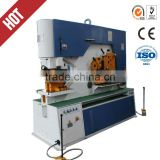 Hydraulic punch and shear, Q35Y-20 stainless steel multifunctional ironworker machine,angel steel rod cutting and bending lathe