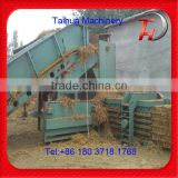 Horizontal Semi-auto Hydraulic baler press for waste paper/plastic bottle/cardboard baling press machine