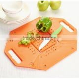 Plastic Folding Cutting Board/plastic foldable wishing basket