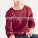 New Fashion Men's Fleece Triblend Crewneck Sweatshirt