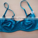 js-903 dark blue color no pad bra in stock