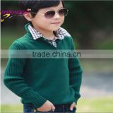 boys sweater design children's clothing factory direct wholesale of knit sweater for boys