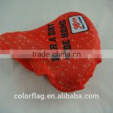 waterproof bike saddle cover,bicycle seat cover,polyester saddle cover