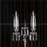 Factory Direct Sale Wholesale Crystal Candle Holder
