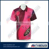 multicolored 100 polyester brand darts polo shirts wholesale