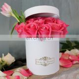 Luxury White Round Hat Box Wholesale For Flowers