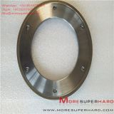 164*6*105*3*3 Metal Bond Diamond Grinding Wheel for Glass Machine  Alisa@moresuperhard.com Image