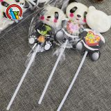 15g Panda shaped lollipops candy