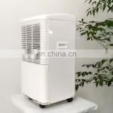 Small Compact Dehumidifier with Continuous Drain Hose  to Drain the Water