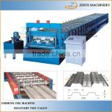 Floor Tile Decker Cold Roll Forming Making Machine/Aluminium Coil Roller Former Equipment