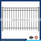 Aluminum Picket Fence Panels Livestock Metal Fencing