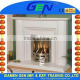 Italian marble fireplaces wall insert marble stone fireplaces                                                                         Quality Choice