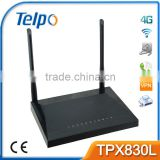 Telpo TPX820 2g 3g 4g wifi router for buses with wireless sim card slot 4 Lan ethernet port