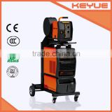 IGBT DC Inverter three phase high frequency heavy duty digital synergic CO2 gas GTAW / SMAW /mig/mag twin pulse aluminum welder