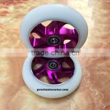Pro Kick Scooter Parts Metal Core Scooter Wheels 110mm                                                                                                         Supplier's Choice