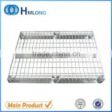 Heavy duty stackable galvanized steel pallets rack for sale