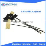 WIFI Internal Antenna 5dBi IPX IPEX Connector FPC Omni Bluetooth Antenna IEEE 802.11 b/g/n WLAN System