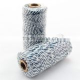 Cotton bakers twine for crafting packaging rope colored twine twisted cotton rope for packaging Wedding Favor