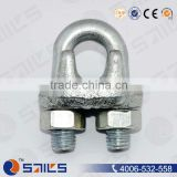 galvanized u bolt wire rope cable grips