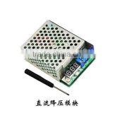 10A high power DC-DC 300W adjustable voltage regulator power supply module with voltage meter display