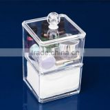 Professional Custom Acrylic Makeup Organizer Clear Cosmetic Case Wholesale jewelry Display Case