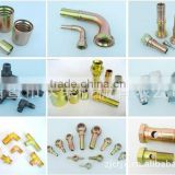 ferrules hydraulic hose fitting brass inserts cores nut sleeves