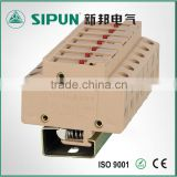 JF5 1.5mm fuse type din rail terminal with led