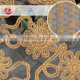 wholesale cheap cotton guipure softtextile embroidery lace fabric samples of lace for dress