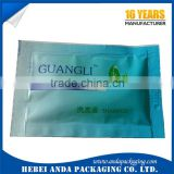 Printed laminated aluminium foil sachet film for shampoo packaging/ hotel shampoo sachet rolls
