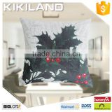 2015 new arrival top quality fancy christmas decorative pillow case festival cushion cover