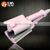Professional tourmaline triple barrel hair curling iron gig wave salon new design hair curler machine as seen as tv SY-918