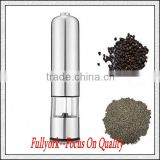 Electric Stainless Steel Salt Pepper Mill Grinder As Seen On TV Electronic Grinder