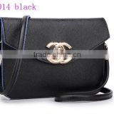 2015 qm014 new design Most popular Lady Leather Satchel Bag /wholesale ladies fashion hand bag
