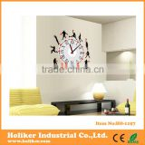 Basketball sport decorative wall sticker clock