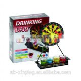 Hot selling Mini Drinking Dart Game Cheap Price including darts shot glass and metal board