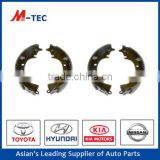Brake shoe manufacturing process 04495-22090 lining for Cressida