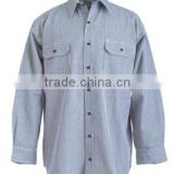 men stylized heavy cotton work shirts wholesale