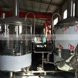 Lager beverage drink factory or hotel 500L cheap beer brewing equipment Fermentation tank for sale