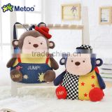 wholesale metoo cartoon backpack/plush kids backpack/cute and high quality backpack bag for children