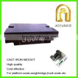 weight class M1, 500kg cast iron weight,500kg test weight, crane scale calibration weights