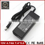 Good Quality 90W 19V 4.74A 7.4*5.0 Laptop AC Adapter Charger For HP Compaq Business Notebook 6510b 6515b 6530b 6535b