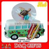 2015 new product polyresin vans snow globle