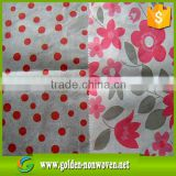 Waterproof and Custom design printed nonwoven fabric, wholesale printed pp nonwoven fabric material for face mask                                                                                                         Supplier's Choice