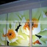 China glossy Eco-solvent Art Wall Paper for baby room decorations
