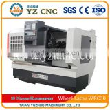 Products alloy wheel straightening machine cnc lathe WRC30                                                                         Quality Choice
